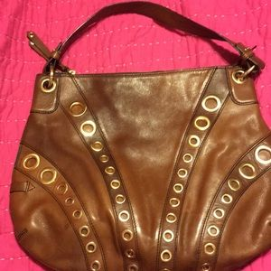 Cole Haan hobo bag with grommets